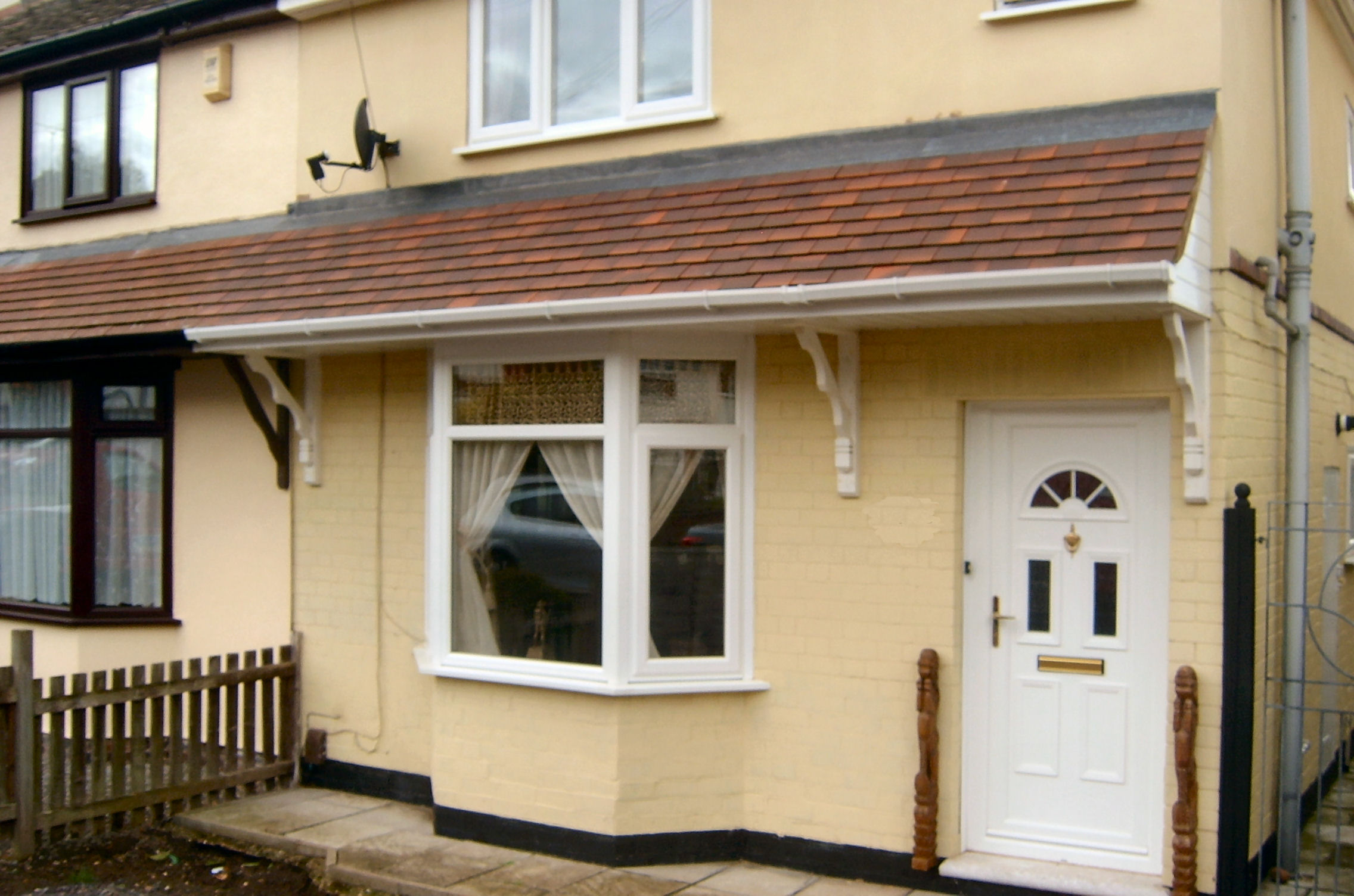 New Front Porch in Nuneaton